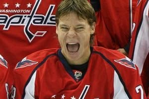 Alexander Semin on being playoff choker, contract with Caps