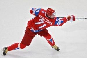Ilya Kovalchuk, Denis Grebeshkov and Alexander Frolov added to Team Russia