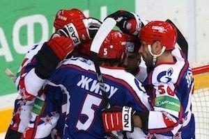Zubov, Esche, Saprykin, Dallman in massive brawl, goalie fights defenceman